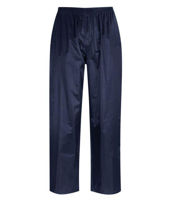 Orbit Atlantic 100% Navy Polyester Rain Trousers - XLarge